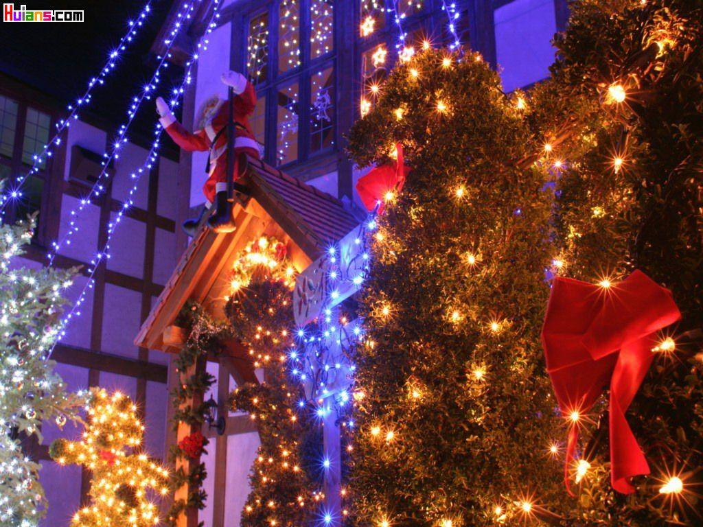 圣诞节快乐 过得开心